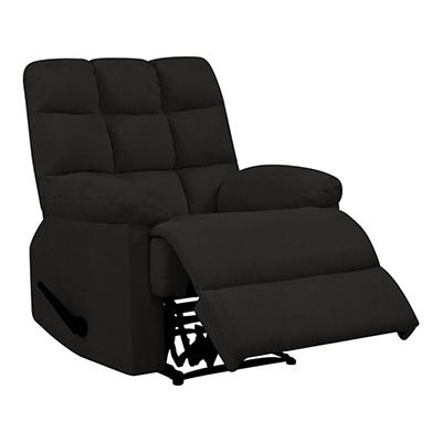 ProLounger Wall Hugger Chenille Reclining Chair - Charcoal Gray