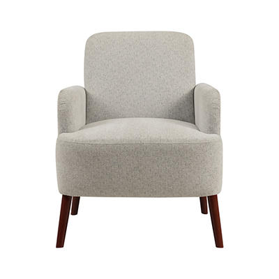 Handy Living Lambert Arm Chair - Gray Tweed