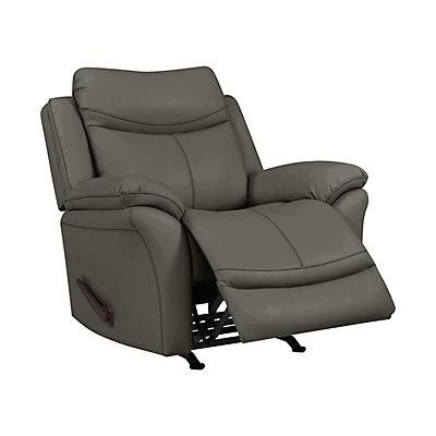 ProLounger Rocker Tuff Stuff Recliner Chair - Taupe Gray