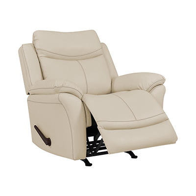 ProLounger Rocker Tuff Stuff Recliner Chair - Off-White Almond
