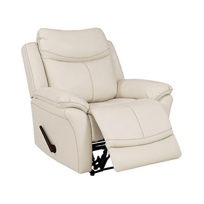 ProLounger Wall Hugger Tuff Stuff Reclining Chair - Off-White Almond