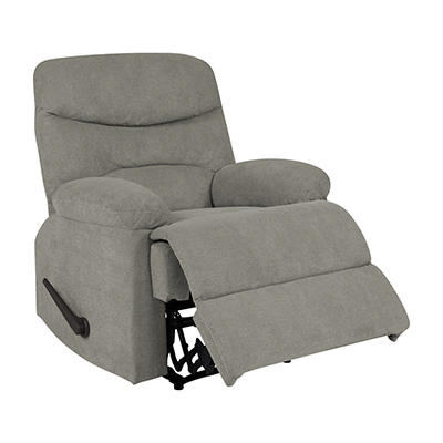ProLounger Wall Hugger Chenille Recliner - Warm Gray