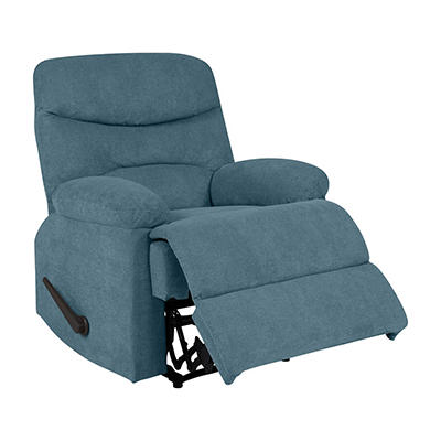 ProLounger Wall Hugger Chenille Recliner - Medium Blue