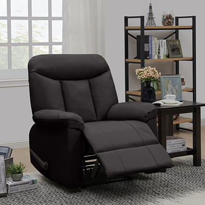ProLounger Wall Hugger Tuff Stuff Recliner - Espresso Brown