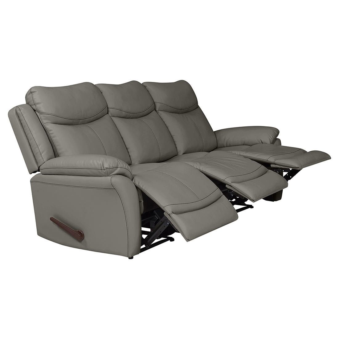 ProLounger Wall Hugger Tuff Stuff Recliner Sofa, 3 Seats ...