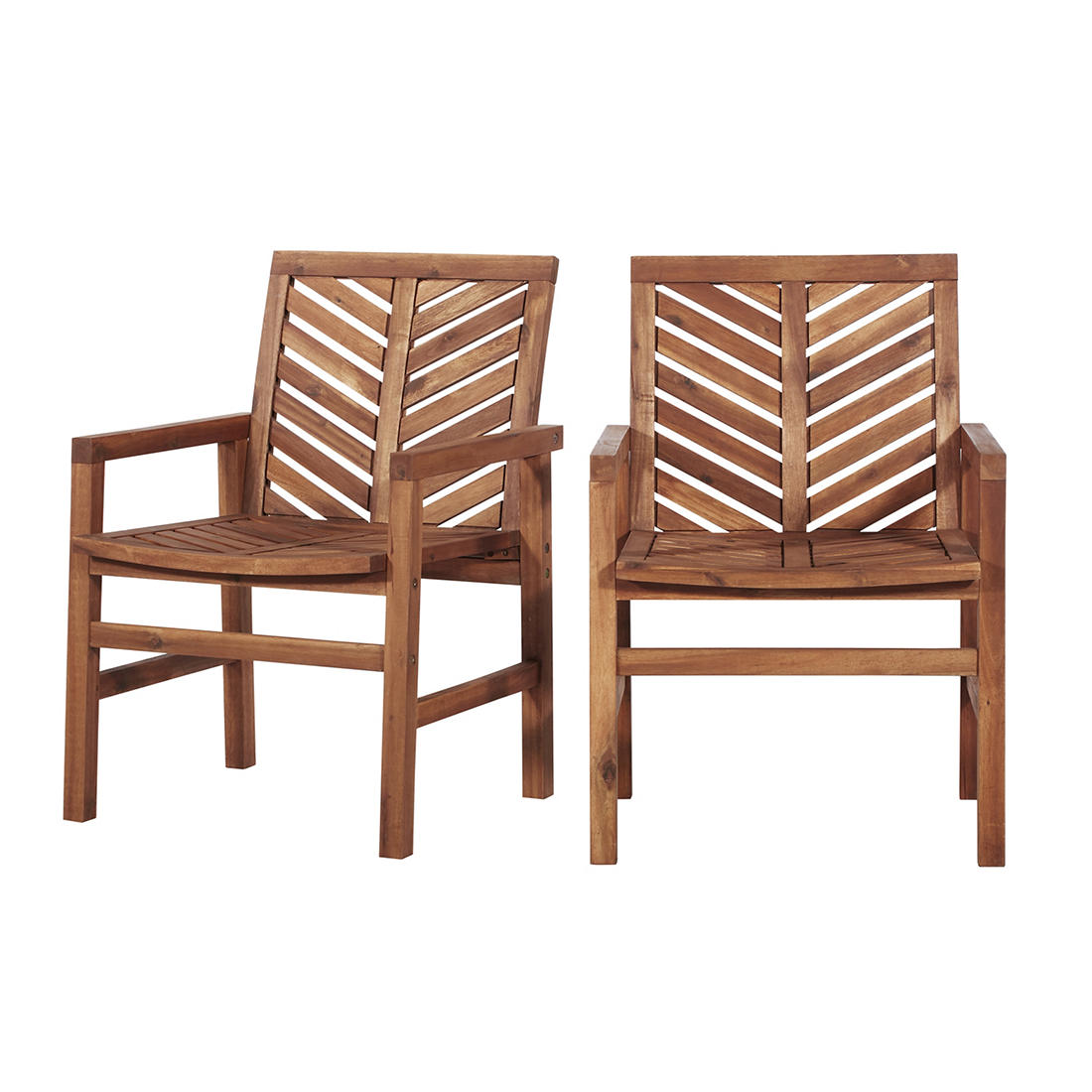 Admirable W Trends Outdoor Acacia Wood Patio Chair Natural Bjs Home Interior And Landscaping Palasignezvosmurscom