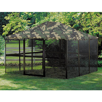 "Casita 11'7"" x 11'7"" Screenhouse - Camouflage"