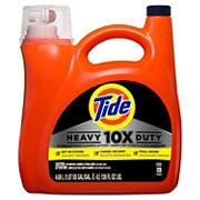 Tide 10X Heavy Duty Liquid Laundry Detergent, 138 fl. oz.