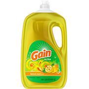 Gain Ultra Lemon Zest Dishwashing Liquid Dish Soap, 90 fl. oz.