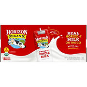 Horizon Organic Whole Milk, 18 pk./8 fl. oz.