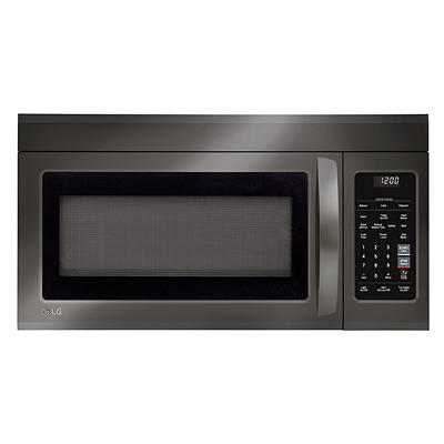 LG 1.8-Cu.-Ft. Over the Range Microwave Oven with EasyClean - Black St