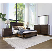 Abbyson Living Lakewood 5-Pc. Bedroom Set - Queen