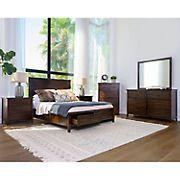 Abbyson Living Lakewood 6-Pc. Bedroom Set - Queen