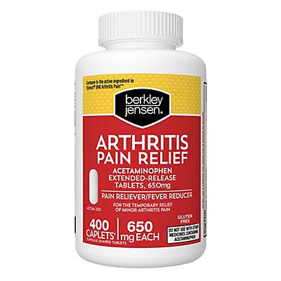 Berkley Jensen Arthritis Pain Relief Caplets, 400 ct.