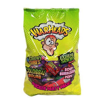 Warheads Variety Candies, 32 oz.