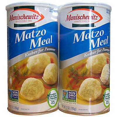 Manischewitz Matzo Meal, 2 pk./27 oz.