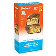 Detour Lower Sugar Protein Bars Varity Pack, 19 ct./1.5 oz.