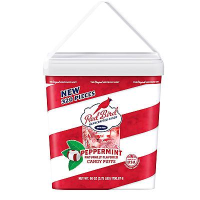 Red Bird Peppermint Candy Puffs, 320 ct.