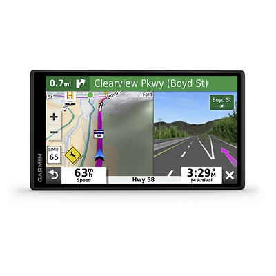 "Garmin DriveSmart 55 LMT 5.5"" GPS Navigation System with Wi-Fi, Lifeti"