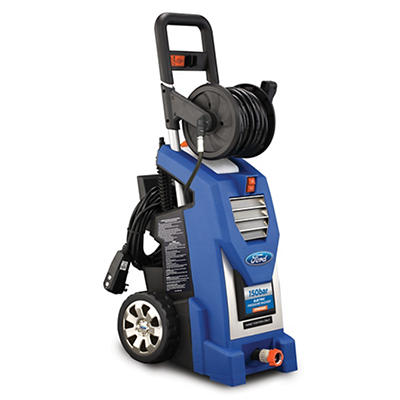 Ford 1,800psi Electric Pressure Washer with Wedge and Rotary Brushes