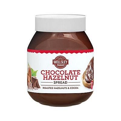 Wellsley Farms Chocolate Hazelnut Spread, 26.5 oz.