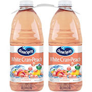 Ocean Spray White Cranberry Peach Juice Drink, 2 pk./96 fl. oz.