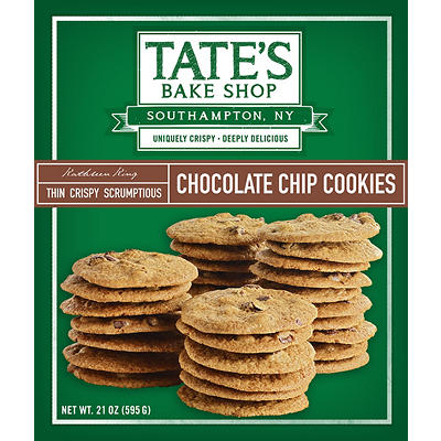 Tate's Bake Shop Chocolate Chip Cookies, 21 oz.