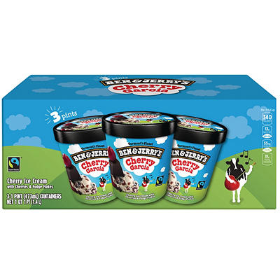 Ben & Jerry's Cherry Garcia Pints, 3 pk.