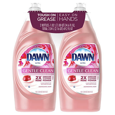 Dawn Ultra Gentle Clean Pomegranate and Rose Water Dishwashing Liquid