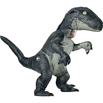 Jurassic World Adult Inflatable Velociraptor Costume