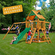 Gorilla Playsets Chamberlain II Swing Set with Installation