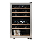 Kalorik 29 Bottle Temperature Control Dual Zone Freestanding Wine Cooler