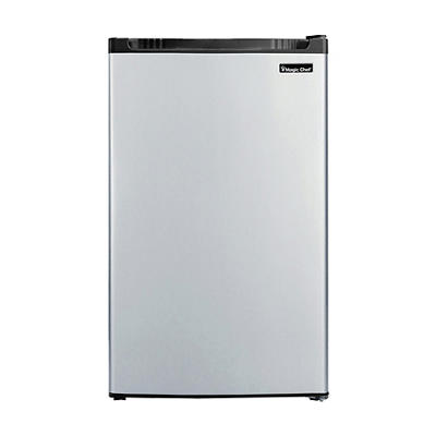 Magic Chef 4.4-Cu.-Ft. Compact Refrigerator - Stainless Steel