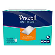 Prevail Super Absorbent XXL Underpads, 60 ct.