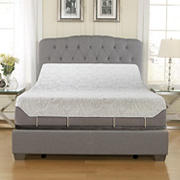 "Contour Rest 10"" Air Flow Gel Memory Foam Queen Size Mattress with Adjustable Base"