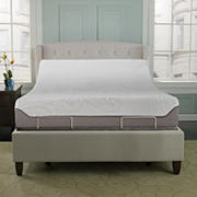 "Contour Rest Contour Flex 12"" Air Flow Gel Memory Foam Queen Size Mattress with Adjustable Base"