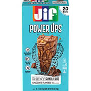 Jif Power Ups Chocolate Peanut Butter Chewy Granola Bars, 20 ct./1.3 oz.