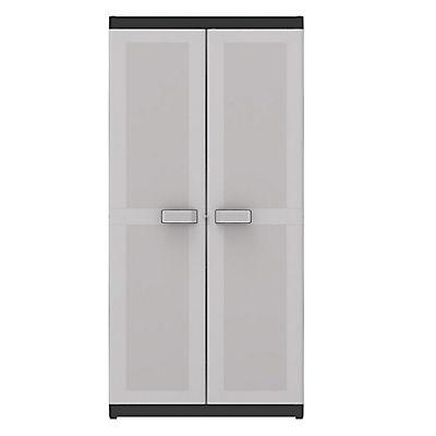 Keter Logico XL Tall Garage Storage Cabinet - Gray
