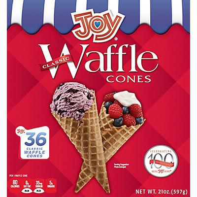 Joy Waffle Cones, 36 ct.