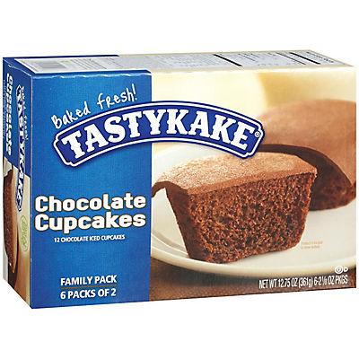 Tastykake Chocolate Cupcakes, 12 ct./1.06 oz.