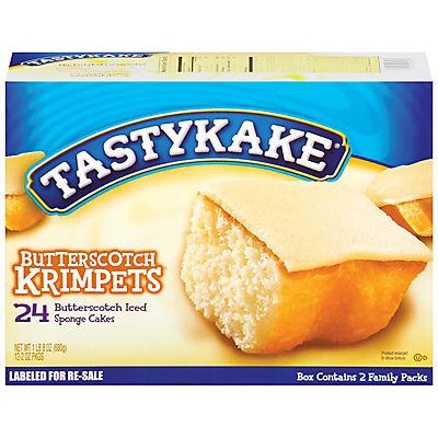 Tastykake Butterscotch Krimpets, 24 ct./1 oz.