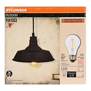 Sylvania Hudson Indoor Pendant Light Fixture - Black