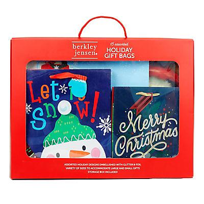 Berkley Jensen Assorted Holiday Gift Bags, 15 pk.