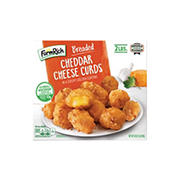 Farm Rich Breaded Cheddar Cheese Curds, 2 lbs.