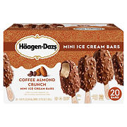 Haagen Dazs Coffee Almond Crunch Ice Crean Bars, 20 ct.