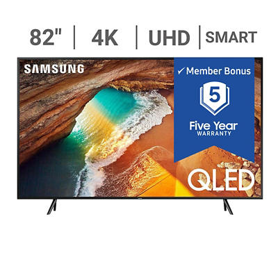 "Samsung QN82Q6DR 82"" 4K UHD LED QLED TV with $50 Google Play Gift Card and White Glove Delivery"