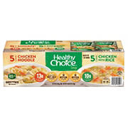 Healthy Choice Variety Pack Soup, 10 pk./15 oz.