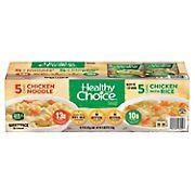Healthy Choice Variety Pack Soup, 10 pk./15 oz.