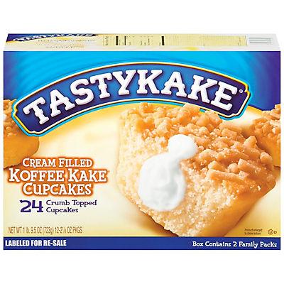 Tastykake Cream Filled Koffee Kake Cupcake, 24 ct./1.02 oz.