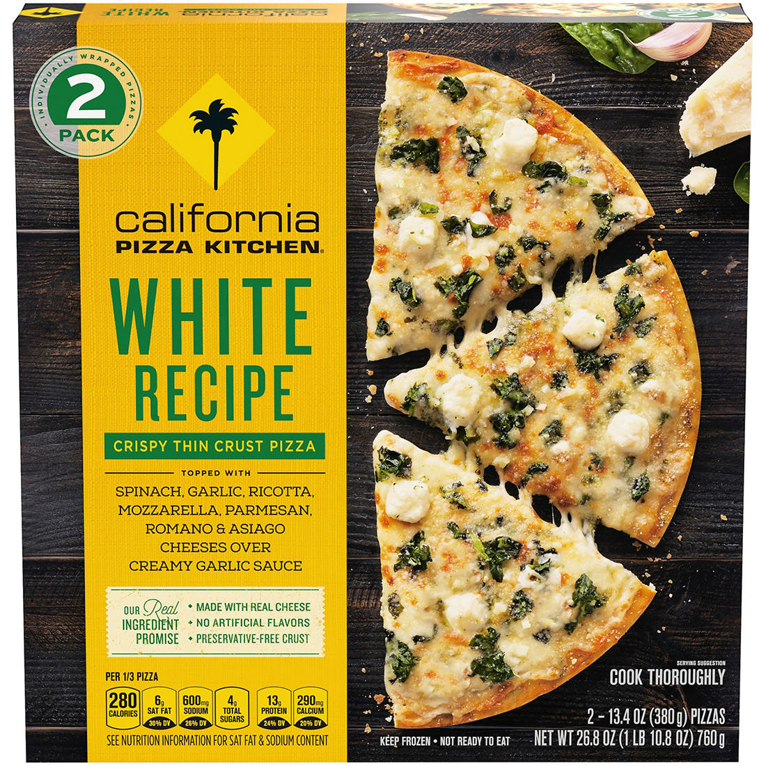 California Pizza Kitchen White Recipe